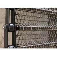 Buy cheap Flexible Spiral Mesh Belt Food Grade Corrosion Resistance For Vegetable Blanching from wholesalers