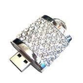 Buy cheap 32GB Lock Crystal Jewellery USB Flash Drive (VDJ-003) from wholesalers