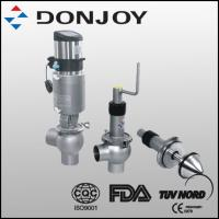 """1"""" - 4"""" Pneumatic Regulating Valve with actuator and positioner control flow"""