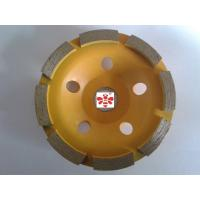 Buy cheap 5  / 6  Diamond Cutting Blade   ,  Double Row 4.5 diamond cutting discs  Economical from wholesalers