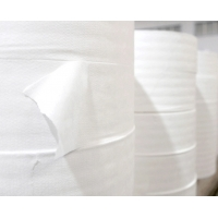 Buy cheap White color melt-blown filter non-woven fabric textile material fabric woven product