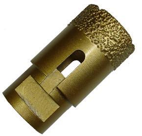 High Penetration Diamond Core Bit , Diamond Bit Hole Saw With Wearable Blade