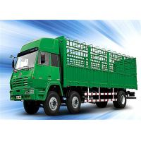 Buy cheap High bed 3 axles 40 ton bulk cargo transport cage semi trailer fence stake truck trailer from wholesalers