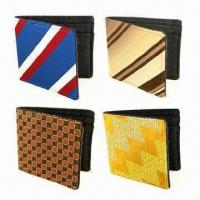 Wholesale Men's Leather Wallets, Made of PU, Fashionable Style, Practical Inner Construction from china suppliers