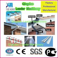 Buy cheap plastic profile machine, UPVC PVC  fascia board production machine from wholesalers