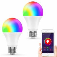 Buy cheap 2 Packs Smart Wifi LED Bulb Wireless Remote Controlled 75W Equivalent from wholesalers