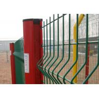 Buy cheap White 14 15 16 Gauge Wire Mesh Fence , Green Plastic Coated Wire Fencing from wholesalers