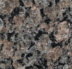 China Polished , honed Granite Natural Stone wall cladding / kitchen countertop , Caledonia on sale