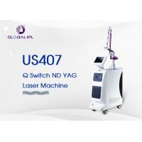 Buy cheap 4 Handpieces Portable Laser Tattoo Removal Machine With 1 - 6hz Frequency from wholesalers