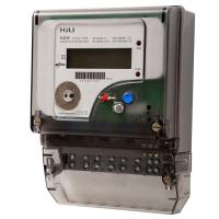 Three Phase Electronic Energy Meter for Household , 3 phase 4 wire energy meter