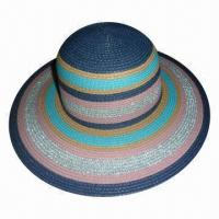Buy cheap Women's Paper/PP Braid Big Brim Hat, Available in Various Colors product