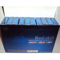 Buy cheap OEM Sex Product with Top Quality Real Skill Sex Pills Male Sexual Enhancement from wholesalers
