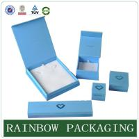 Wholesale Custom Size Sky Blue Jewelly Case , Grazioso Cardboard Box for Jewelly Box from china suppliers