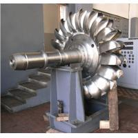 Buy cheap Pelton Impulse Turbine For Hydraulic Power Stations, Vertical Hydro Turbine With Nozzles from wholesalers