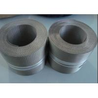 China SS Reverse Dutch Weave Wire Mesh / Extruder Filter Screen For Plastic Extrusion on sale