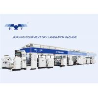 China Industrial Multi-Layer Dry Laminating Machine Solventless CPE / AL on sale