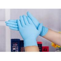 Buy cheap Colored Plastic Medical Grade Disposable Gloves Uniform Thickness Powder Free Nitrile Gloves from wholesalers