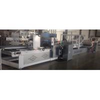 Buy cheap ZL-2400 Szie Automatic Folder Gluer Machine 7.0KW Power Corrugated Box Folding product