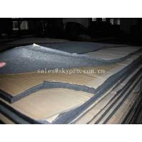 Buy cheap Flexible Insulation Rubber Foam Sheet With Adhesive Sticker , High Density from wholesalers
