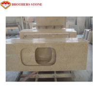 Buy cheap Polished G682 Rust Yellow Granite Stone , G682 Granite Double Sink Vanity Top from wholesalers