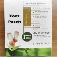Buy cheap 100% new material bamboo Vinegar Detox foot patch slim patch slimming plaster for weight loss fat burning body shaping from wholesalers