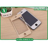 Buy cheap 0.33mm 3D Titanium Alloy iPhone 4 Tempered Glass Film Screen Protector from wholesalers