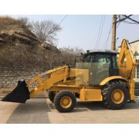 Buy cheap 8ton backhoe loader SAM388 best quality low price backhow for sale from wholesalers