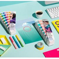 Buy cheap 2017 pantone guide set coated and uncoated color card pantone gp1601n pantone colour guide chart solid coated color card from wholesalers