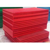 Wholesale 38*38*38 Fiberglass Grating Panels / Fiberglass Grid Grating For Car Washes from china suppliers
