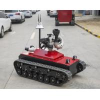 Wholesale 48V Fire Fighting Equipment 0-1.6m/S Speed Remote Control Fire Fighting Robot from china suppliers