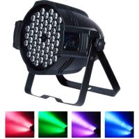 Buy cheap Mute Fan Cooling RGBW LED Stage Light 54 LEDs Party Club Disco Wedding Light Sound Activated DMX512 from wholesalers
