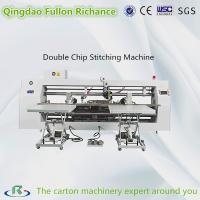 Buy cheap Three Servo Driver Best Usage Double Chip Nail Box Stitching Machine from wholesalers