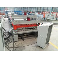 Buy cheap Galvanized Corrugated Roofing Panel / Roof Sheet Making Machine with unit PLC Control from wholesalers
