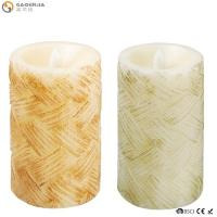 Buy cheap Classical Led Garden Moving Flame Battery Candles Color Changing With Remote from wholesalers