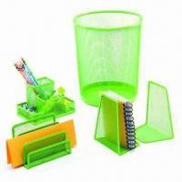 Buy cheap Colorful Office Stationery Set, Customized Designs are Welcome, Available in Attractive Design from wholesalers
