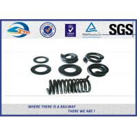 Buy cheap Black Spring Locking Washer 65Mn for Bolt / Split Lock Washers from wholesalers
