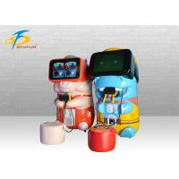 Buy cheap Interactive 9D VR Game Machine For Kids In Amusement Park / Theater product
