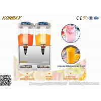 Buy cheap CE CB 12L×2 Double-bowl Hot And Cold Dispenser For Fruit Juices from wholesalers