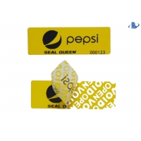 Buy cheap Serial Number Sticker Labels warranty void if broken stickers from wholesalers