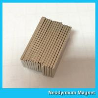 China Super Powerful Industrial Neodymium Magnets Bar Shaped High Flux on sale