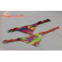 Buy cheap Custom Dog Bandanas Collar With d Ring For Attaching Lead / cute dog clothes from wholesalers