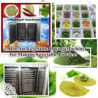 Hot air vegetable drying machine for making vegetable powders Manufactures