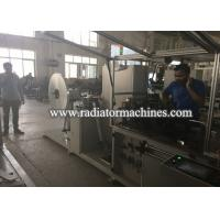 Buy cheap Fully Automatic Radiator Making Machine For Making Copper And Aluminum Foil Fin from wholesalers
