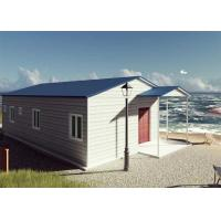 Buy cheap 3 bedrooms 98 m2  Maldives sandwich wall panel prefab house from wholesalers