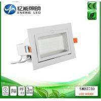 Buy cheap high power 60W led down light Rectangular downlight  Square down light led trunk light with 5730 led AC90-277V from wholesalers