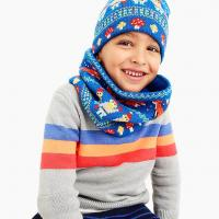 Buy cheap Warm Small Boys ' Knit Beanie Hats For Outdoor Activities Christmas Gifts from wholesalers