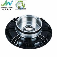 Buy cheap Black Powder Coated Machined Aluminum Parts , Electric Motorbike Hub Alu Die Casting Cover from wholesalers