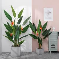 Wholesale Living Room Artificial Bamboo Plant , Interior Decoration Faux Banana Tree from china suppliers