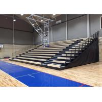 Buy cheap Travelling Retractable Seating System / Plywood Deck Movable Stadium Seating from wholesalers