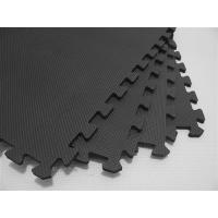 Anti Fatigue Black Padded Childrens Foam Play Mats Exercise Gym Mat Flooring Manufactures